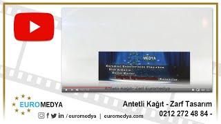 Antetli Kağıt Tasarımı - 0212 272 48 84 - Euromedya
