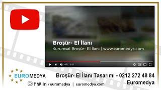 Broşür - El İlanı Tasarımı - 0212 272 48 84 - Euromedya