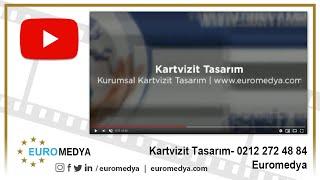 Kartvizit Tasarımı - 0212 272 48 84 - Euromedya