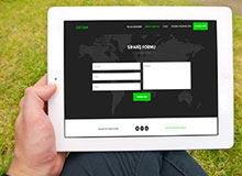 Web Arayüz Tasarım Çalışması