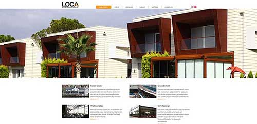 LOCA Corporate Web Software Project Completed