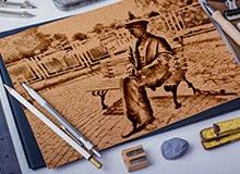 Füzen Çalışması (El Çizimi)