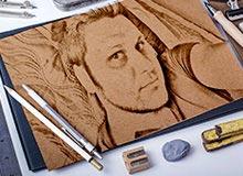Karakalem Çalışması (El Çizimi)