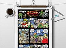 Karikatür ve Sayfa Tasarımı