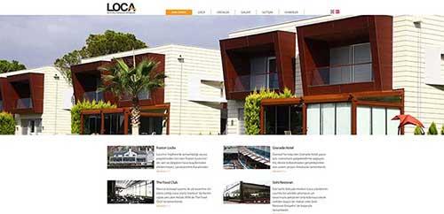 LOCA Kurumsal Web Yazılım Projesi Tamamlanmıştır...