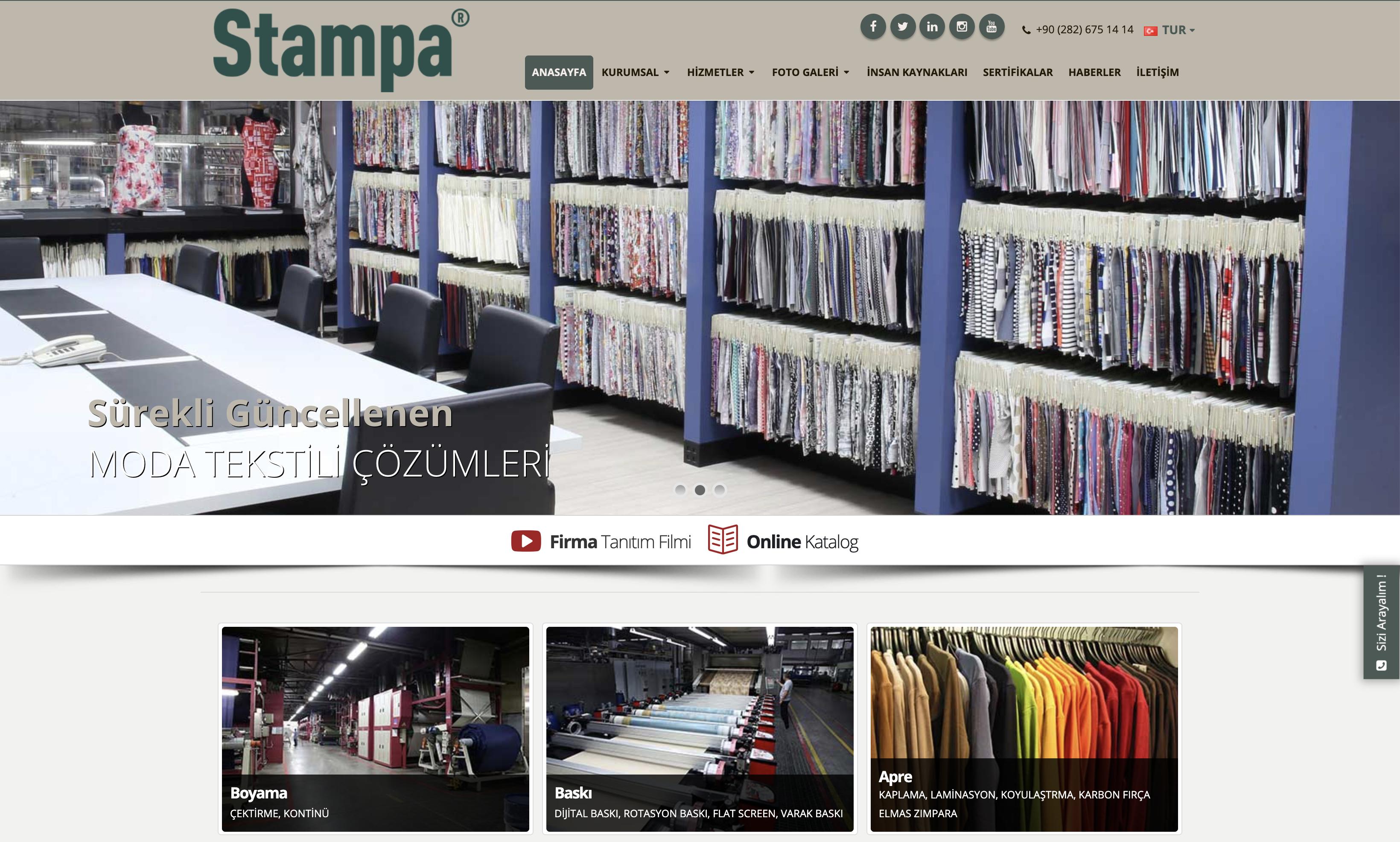 Öztek Tekstil  Yeni Web Sitesi Yayına Girmiştir.
