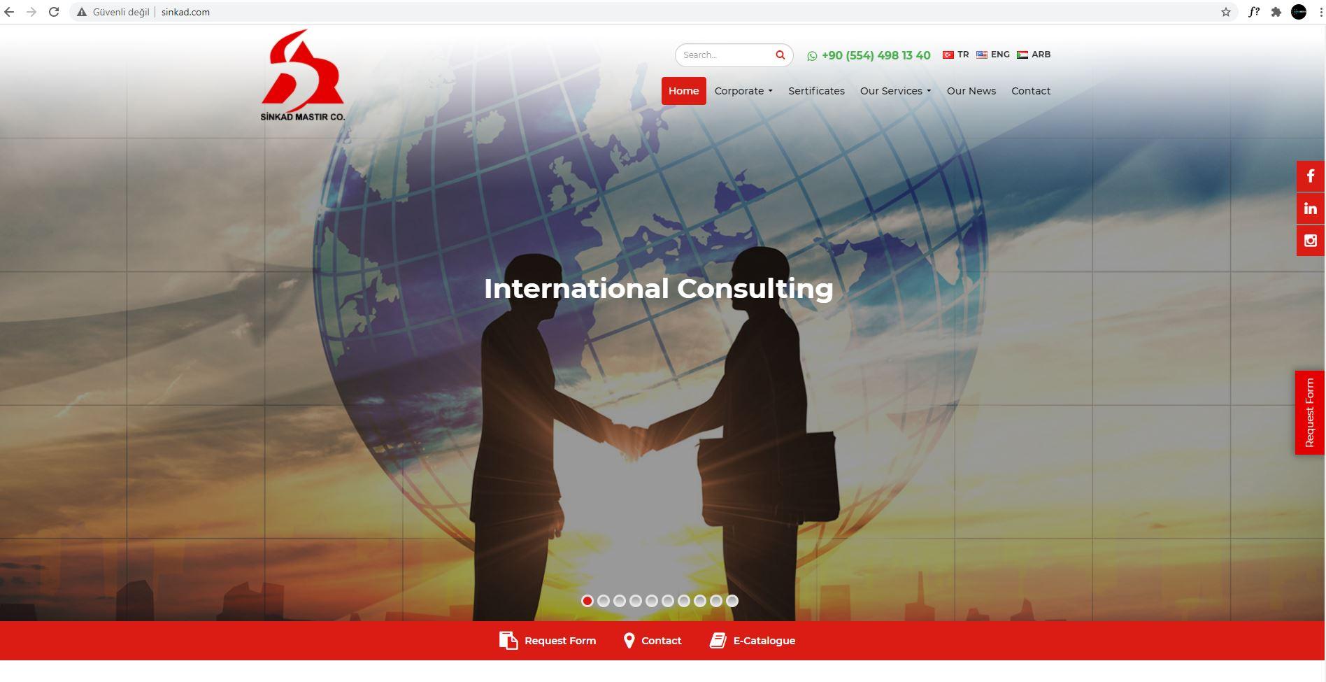 Web Site Tasarımı   Sinkad