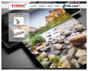 Printec Alfa Laser Web Site Published