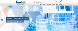 Azolab laboratuvar hizmetleri sektörü web tasarım, fotoğraf çekim, tanıtım filmi, kurumsal kimlik tasarımı, sosyal medya
