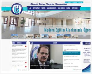 Bayburt University Corporate Web Software and Design Completed