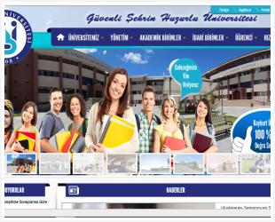 Bayburt Üniversitesi Web Sitesi