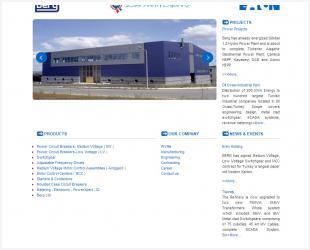 Berg Elektrik Kurumsal Web Sitesi Tamamlandı.