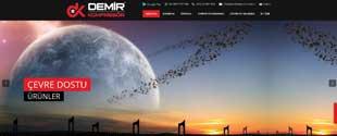 Demirkompresör basınçlı hava sistemleri sektörü web tasarım, fotoğraf çekim, tanıtım filmi, kurumsal kimlik tasarımı, sosyal medya