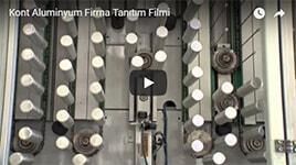 Kont Alüminyum Fabrika Firma Tanıtım Filmi...