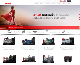 Arken Generator Company in Electricity Sector preferred our company.
