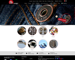 Haksever düğme, makina, fermuar sektörü web tasarım, fotoğraf çekim, tanıtım filmi, kurumsal kimlik tasarımı, sosyal medya
