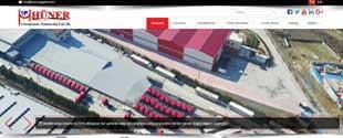 Huner Logistic lojistik sektörü web tasarım, fotoğraf çekim, tanıtım filmi, kurumsal kimlik tasarımı, sosyal medya