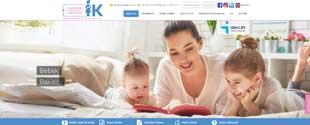 Hande Akgün bebek bakıcısı ve ev hizmetleri sektörü web tasarım, fotoğraf çekim, tanıtım filmi, kurumsal kimlik tasarımı, sosyal medya