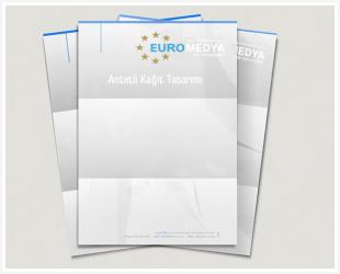 antetli kağıt tasarımı euromedya
