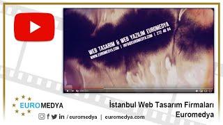 İstanbul Web Tasarım Firmaları - 0212 272 48 84 - Euromedya