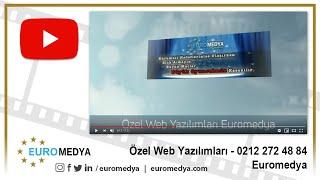 Özel Web Yazılımları - 0212 272 48 84 - Euromedya